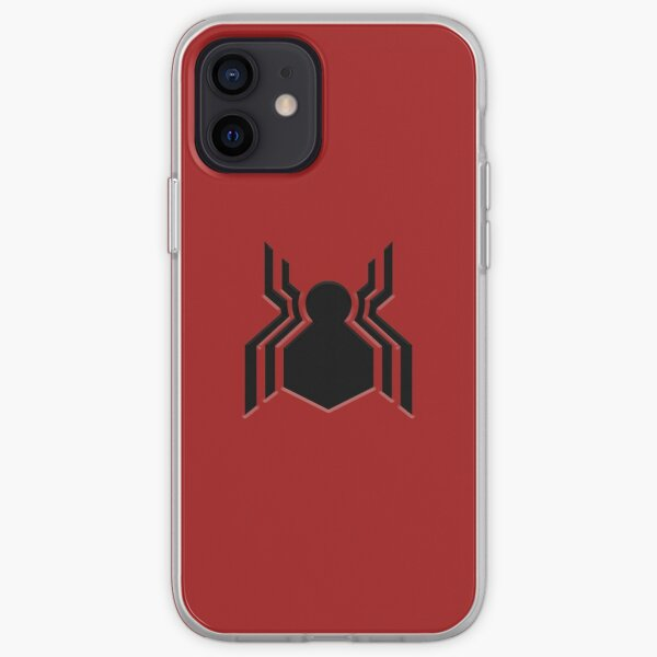 Symbole de Spider-Man Coque souple iPhone
