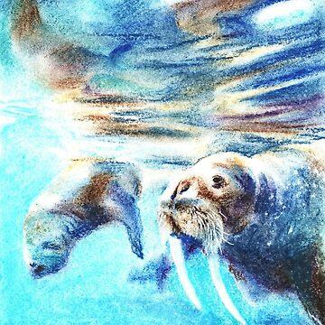 Walrus by AnnaShell