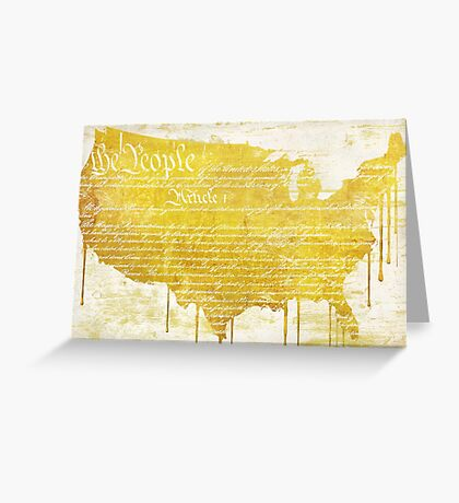 American Dream III Greeting Card