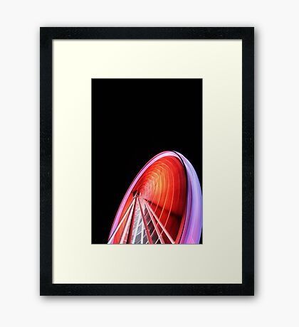 you spin me right round..... Framed Print
