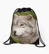 The Odd Man Out Drawstring Bag