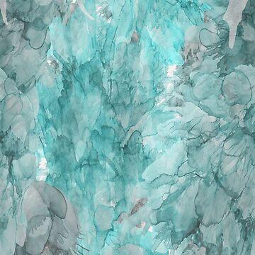 Sueños en verde azulado de artlovepassion