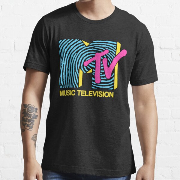 MTV - fingerprint 80s design Essential T-Shirt