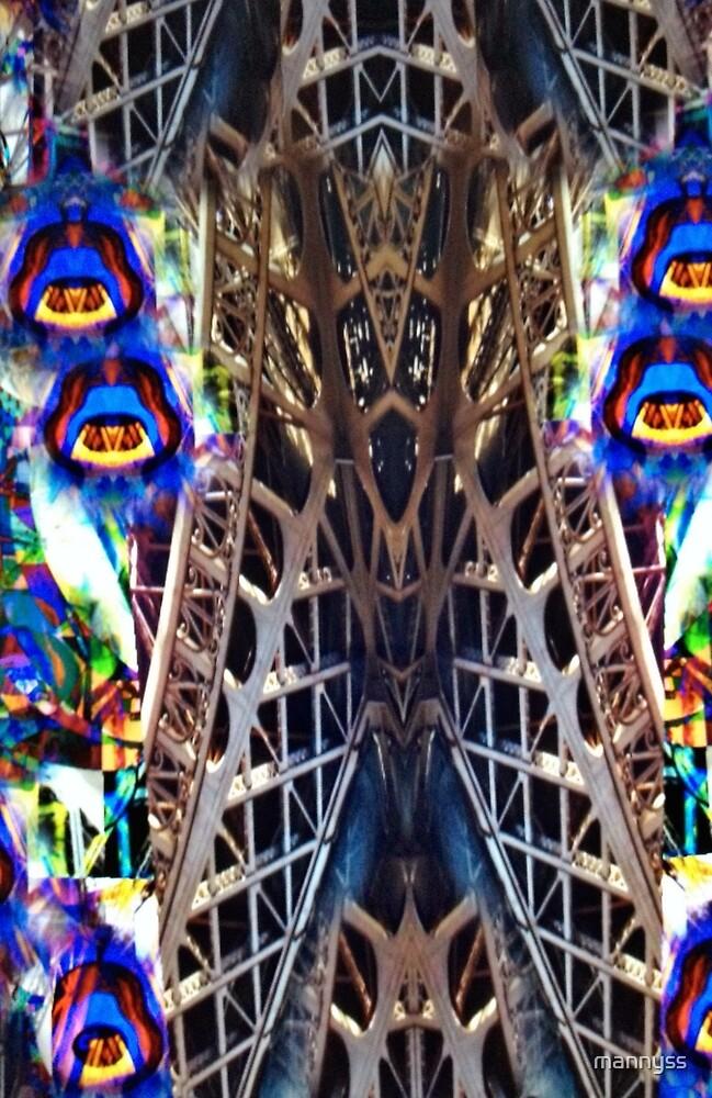 Paris Eiffel  by mannyss