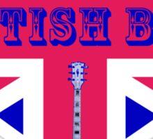 The British Beat Music Sticker