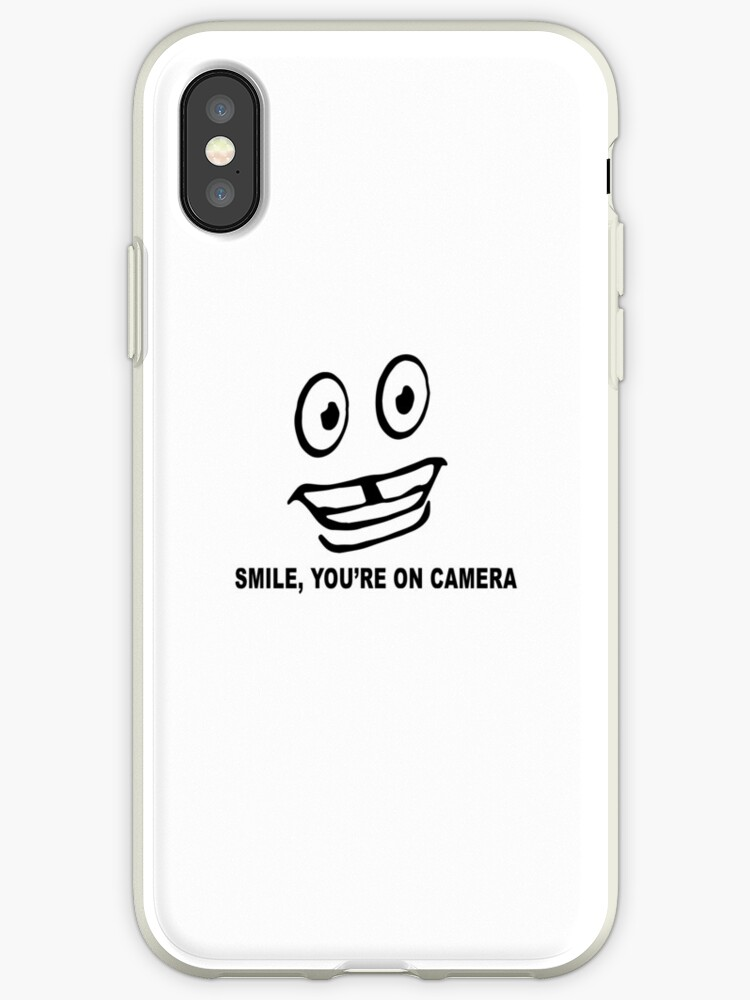 Quot Vince Staples Smile You Re On Camera Tour Merch Quot Iphone