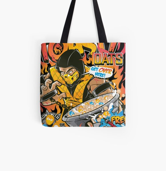 Toasty Oats All Over Print Tote Bag