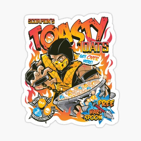 Toasty Oats Sticker