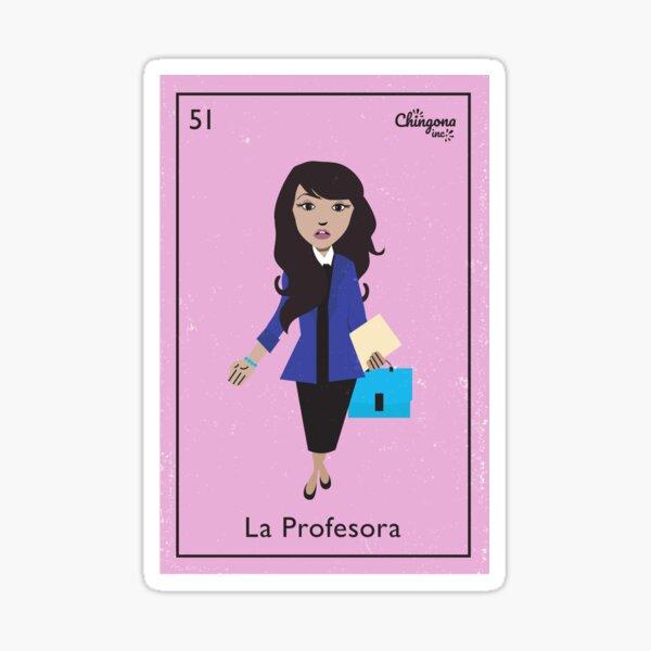 La Profesora Sticker