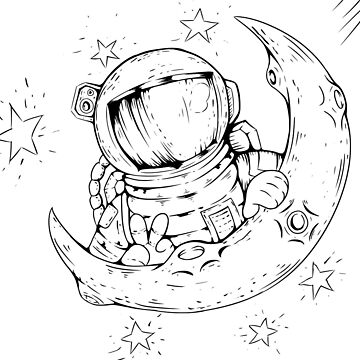 astronaut by Cocotteetloulou