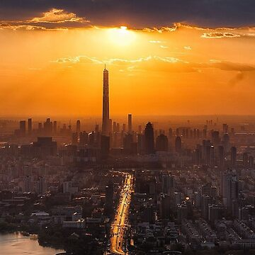 Tianjin China by EdmondHoggeJr