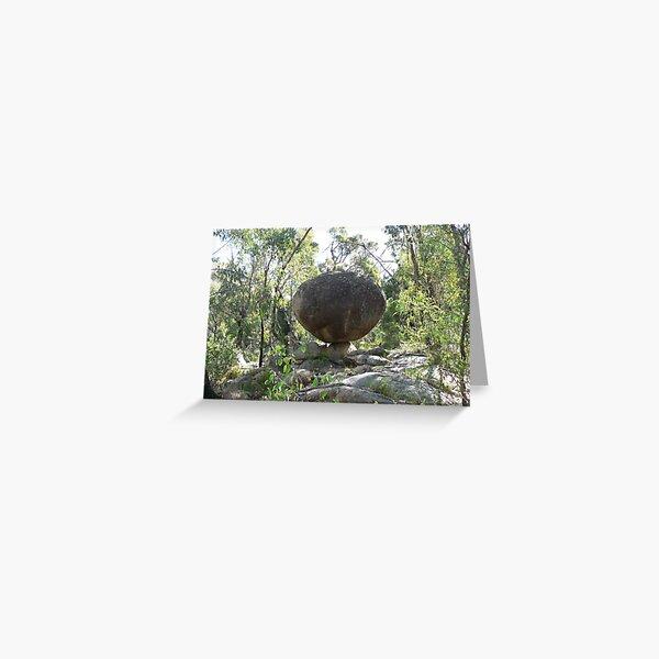 Balancing Rock, Girraween National Park, NSW Greeting Card