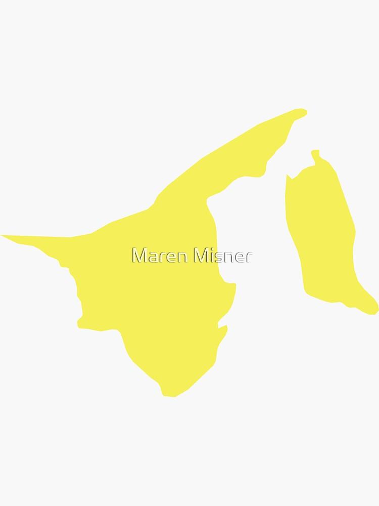 Brunei-Liebe in Zitronengelb von marenmisner
