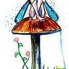Mushroom Fairy 5 by Beau Singer