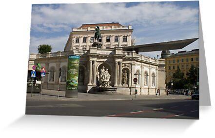 Albertina, Wien Österreich by Mythos57