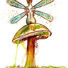 Mushroom Fairy 1 by Beau Singer