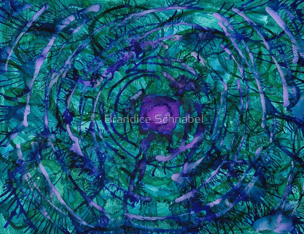 Jungle Web by Brandice Schnabel
