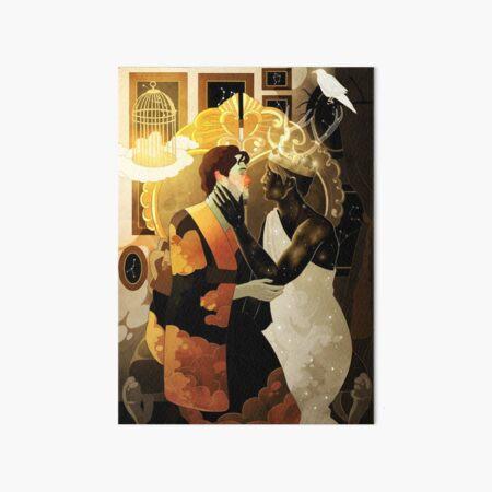 The Night King's Castle Art Board Print