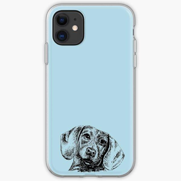 Blue Doxie Design iPhone Soft Case