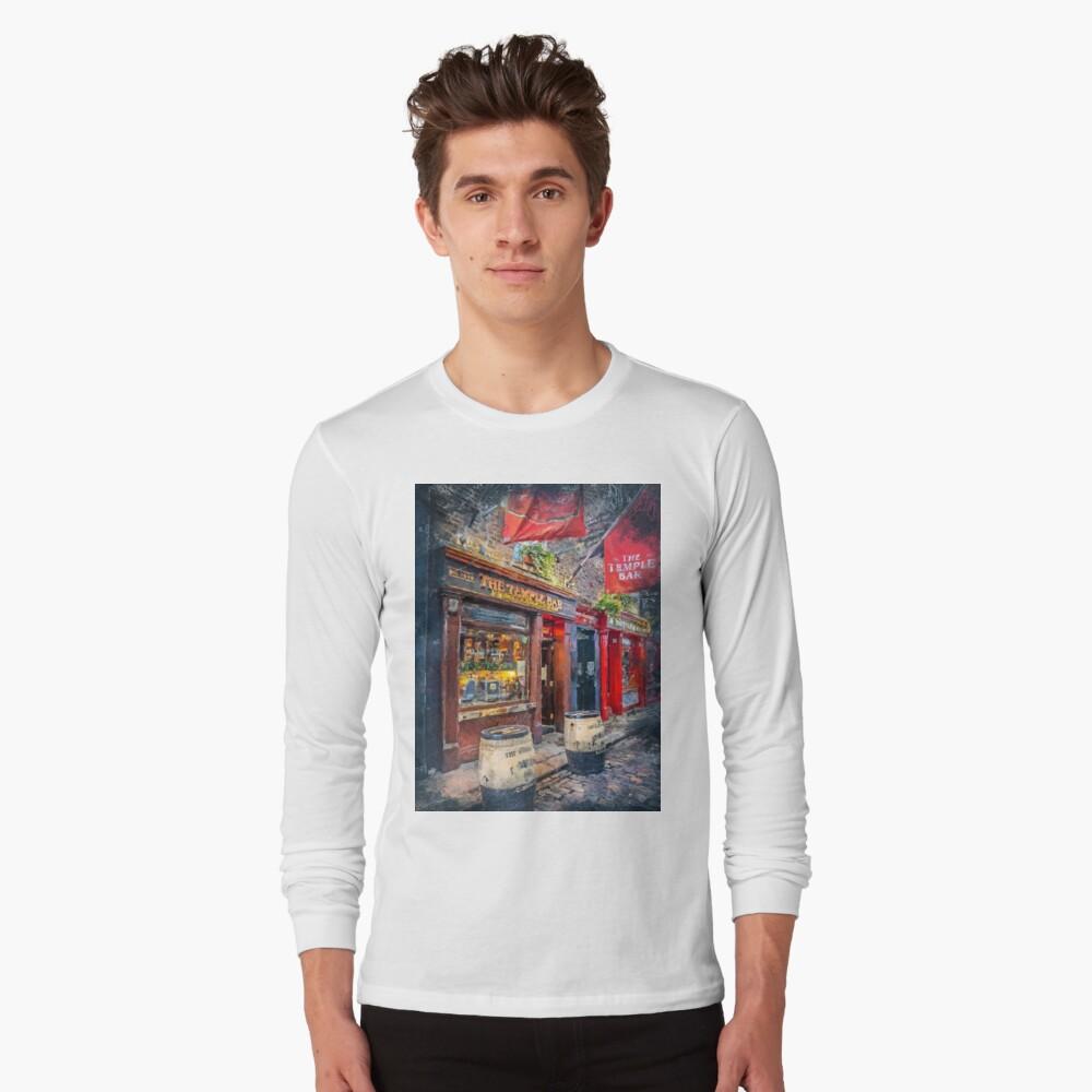 Dublin art #dublin Long Sleeve T-Shirt
