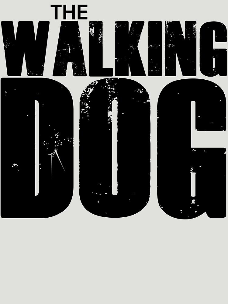 The Walking Dog Parody T Shirt by bitsnbobs