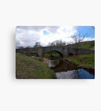 Bridge at Semerwater - Yorks Dales. Canvas Print