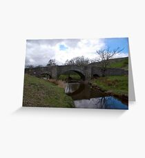 Bridge at Semerwater - Yorks Dales. Greeting Card