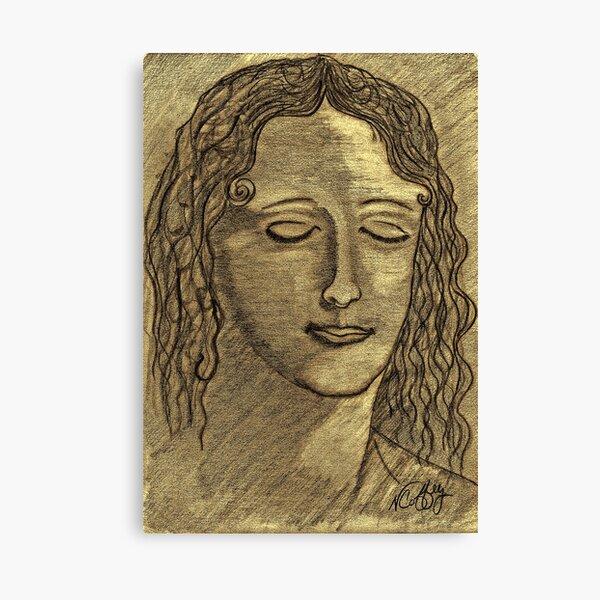LEONARDO DAVINCI'S WOMEN Canvas Print