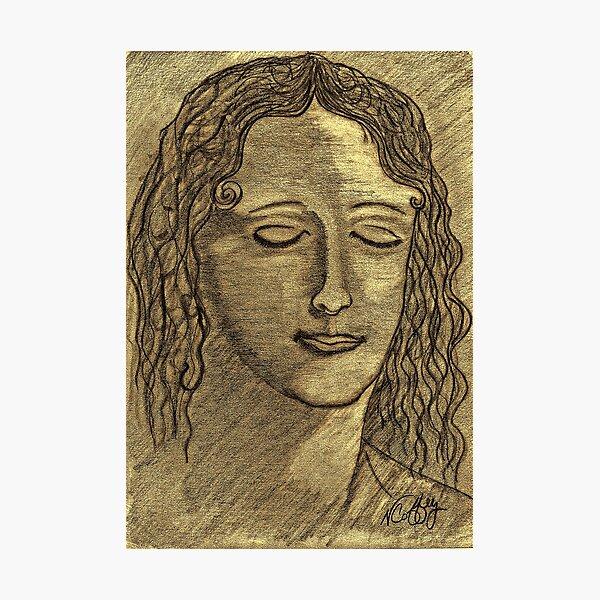 LEONARDO DAVINCI'S WOMEN Photographic Print