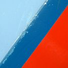 Abstract in Red and Blue by friendlydragon