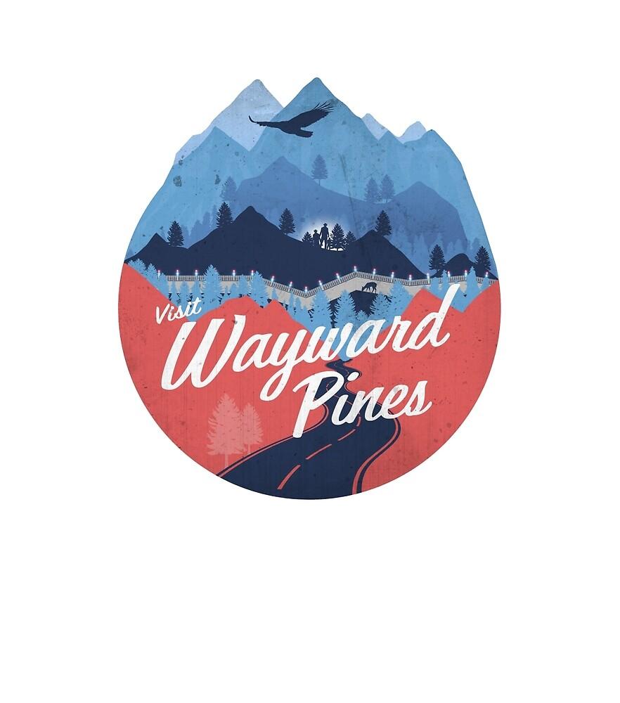 Visit Wayward Pines by Tom Weaver