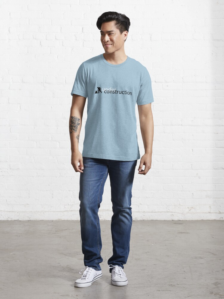 Alternate view of Under Construction Essential T-Shirt