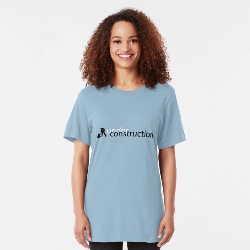 Under Construction Slim Fit T-Shirt