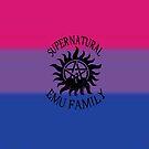 Bisexual Pride Emu Family by EmuMob