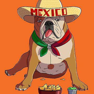 Cinco de Mayo Bulldog Nachos Guacamole by Nosek1ng