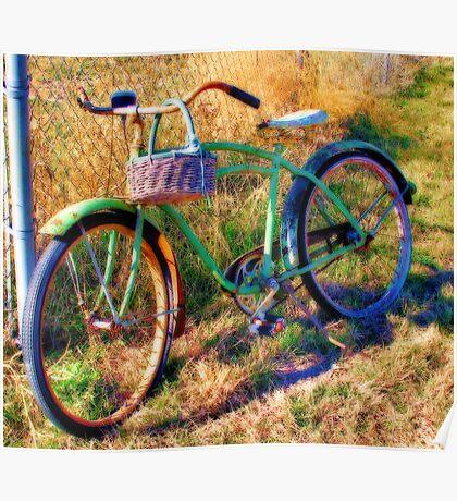 Grandpa's Old Bike Poster