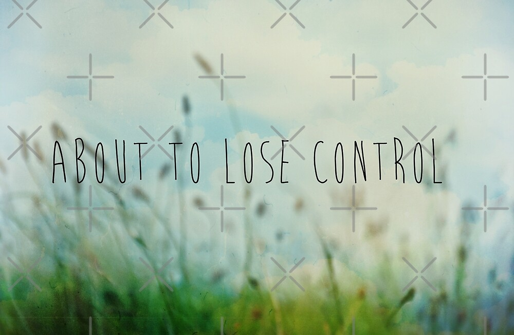 About To Lose Control by Denise Abé