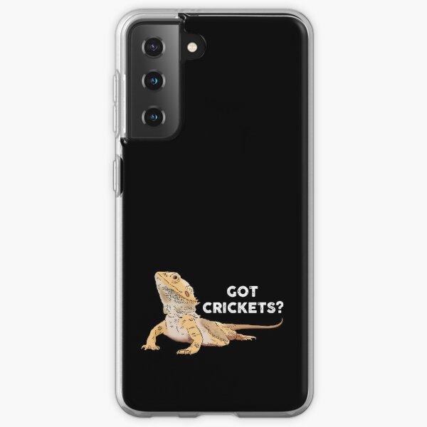 Funny Bearded Dragon, Got Crickets?, Bearded Dragon Lover Samsung Galaxy Soft Case