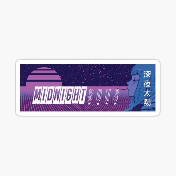 Midnight Suns Slap Sticker