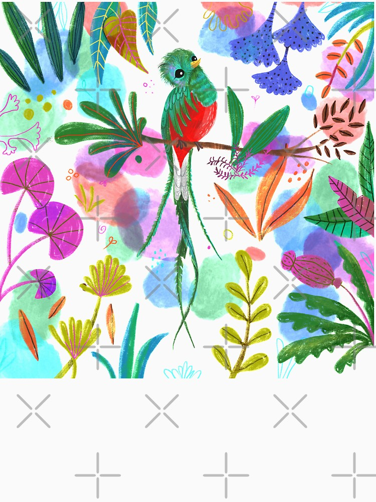 Fehérlólánya - Glowing Birds / Quetzal - white by ManzardCafe