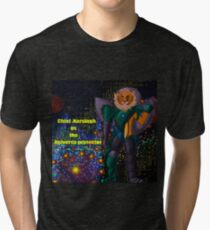Chief Narsingh as the Universe protector Tri-blend T-Shirt