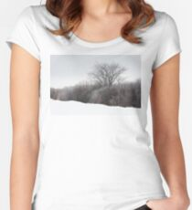 A Tree Among the Brush Women's Fitted Scoop T-Shirt