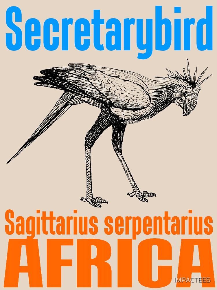 Secretarybird by IMPACTEES