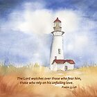 Our Light- Psalm 33:18 by Diane Hall