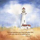Unser Lichtpsalm 33:18 von Diane Hall