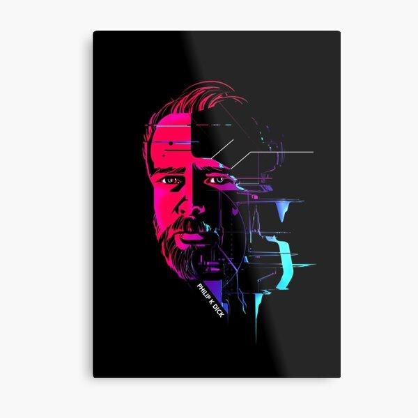 Philip K Dick II Metal Print