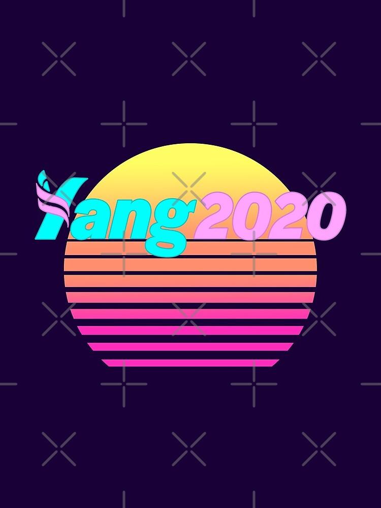 Aesthetic Yang 2020 Vaporwave by boxsmash