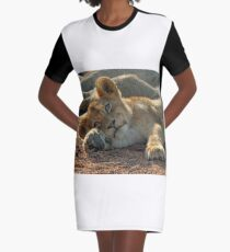 Life is good for cubs in this pride! Graphic T-Shirt Dress