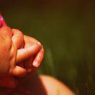 Little tiny hands...love by Elizabeth Weitz