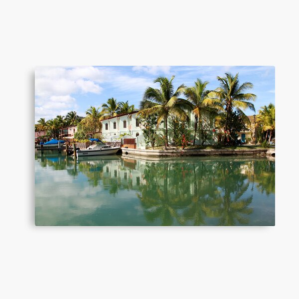 Jolly Harbor, Antigua Canvas Print